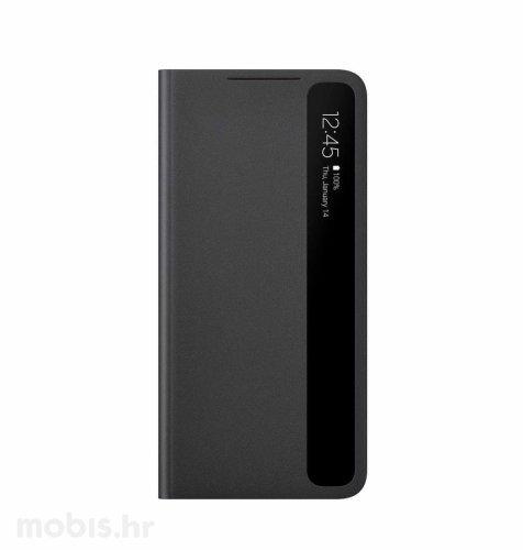 Clear View maska za Samsung Galaxy S21+: crna