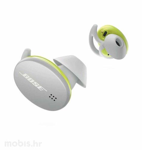 Bose Sport bežične slušalice: bijele
