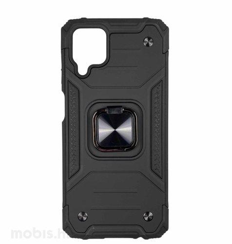 MaxMobile Anti-Shock s prstenom II zaštitna maska za Samsung Galaxy A12: crna