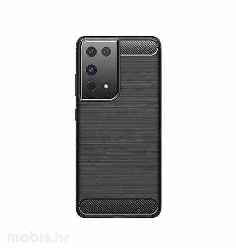 MaxMobile zaštitna maska za Samsung Galaxy S21 Carbon Fiber: crna