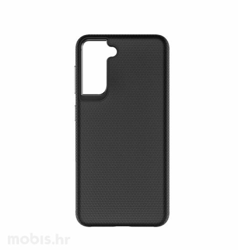 MaxMobile zaštitna maska za Samsung Galaxy S21 Drop-Proof Hard Double: crna