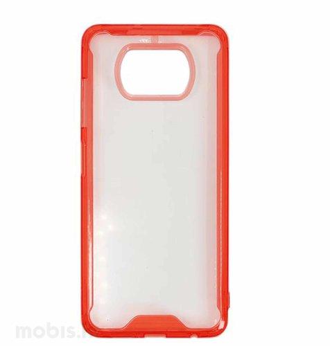 MaxMoblile zaštitna maska za Xiaomi POCO X3 i X3 NFC Acrylic: crvena
