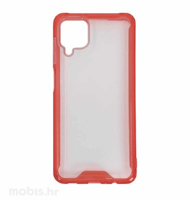 Zaštitna maska za Samsung Galaxy A12 Acrylic: crvena