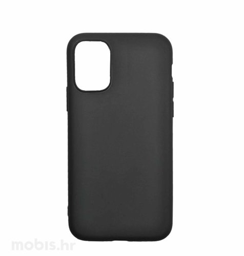 Zaštitna maska za Samsung Galaxy A12 Matte: crna