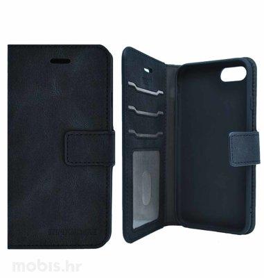 MaxMobile preklopna zaštitna maska za Samsung Galaxy S21+ Wallet Anti Rfid: crna