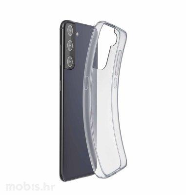 Cellular Line silikonska zaštita za Samsung Galaxy S21+: prozirna