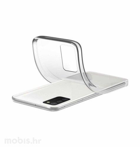 Cellularline silikonska zaštita za Samsung Galaxy A02S: prozirna