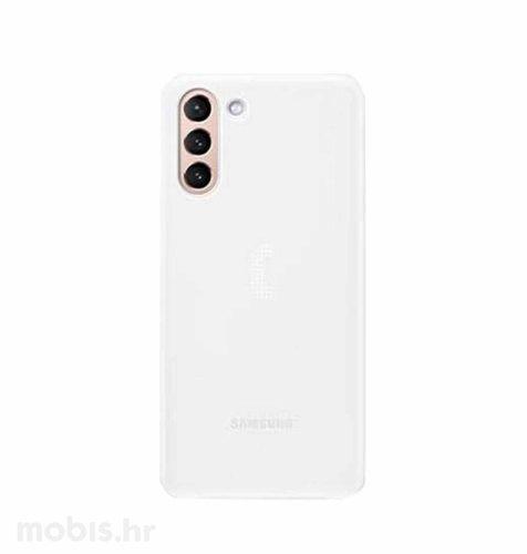 LED maska za Samsung Galaxy S21: bijela
