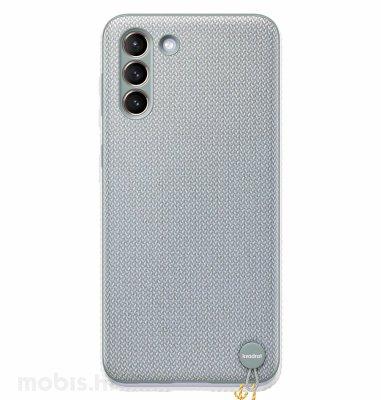 Tekstilna maska za Samsung Galaxy S21+: siva