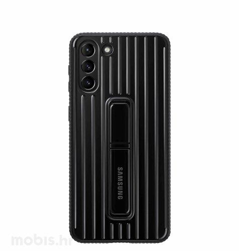 Zaštitna stojeća maska za Samsung Galaxy S21: crna