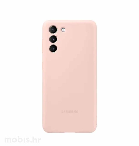 Silikonska maska za Samsung Galaxy S21: roza