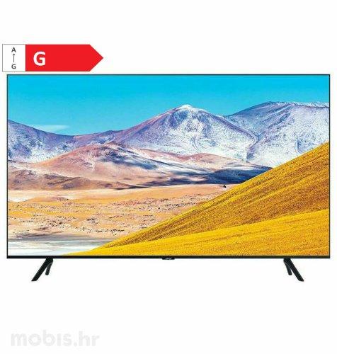 Samsung LED TV UE82TU8072 UHD: crni