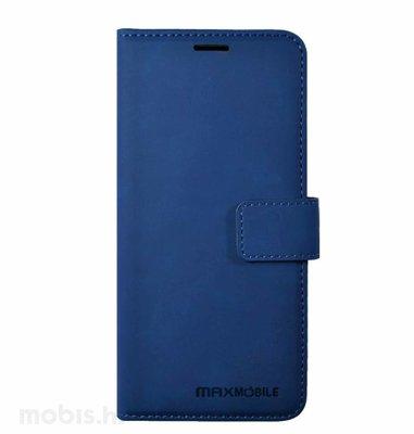 MaxMobile preklopna zaštitna maska za Xiaomi POCO M3 Elegant Wallet: plava
