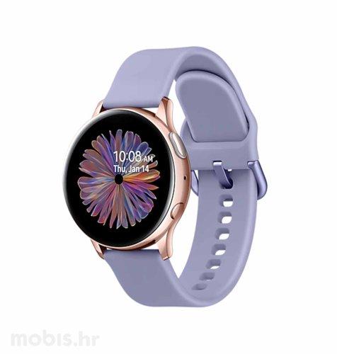 Samsung R830 Galaxy Watch Active 2 40mm: rozo-zlatni sa ljubičastim remenom