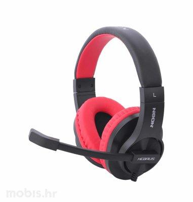 Neon Hebrus, gaming slušalice, crno – crvene