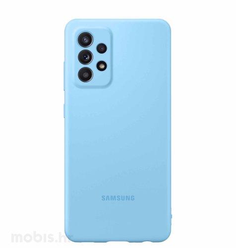 Silikonska maska za Samsung Galaxy A52: plava