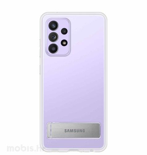 Zaštitna stojeća maska za Samsung Galaxy A52: prozirna