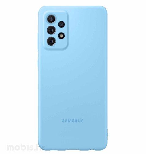 Silikonska maska za Samsung Galaxy A72: plava