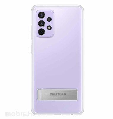 Zaštitna stojeća maska za Samsung Galaxy A72: prozirna