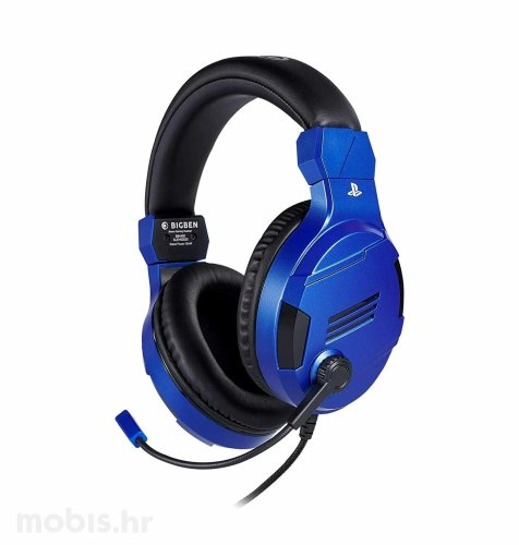 Bigben Stereo Gaming Slušalice V3 za PS4: plave