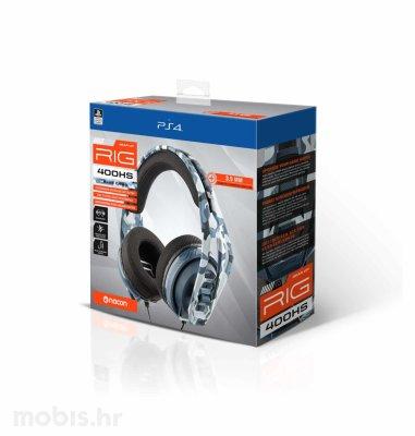 Nacon RIG 400HS Gaming Slušalice za PS4/PS5: maskirno plave
