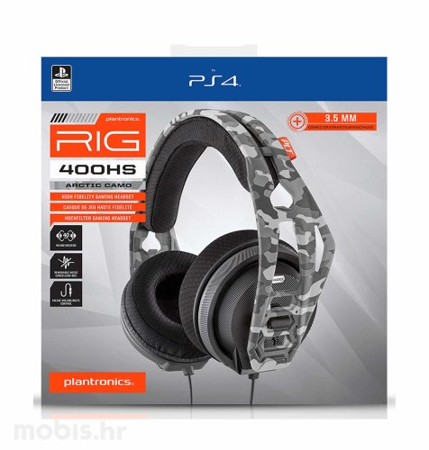 Nacon RIG 400HS Gaming Slušalice za PS4/PS5: maskirno sive