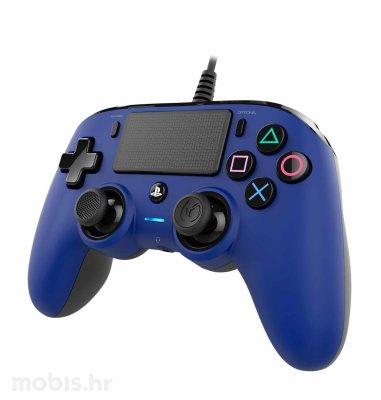Bigben Nacon PS4 žičani kontroler: plavi