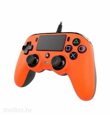 Bigben Nacon PS4 žičani kontroler: narančasti
