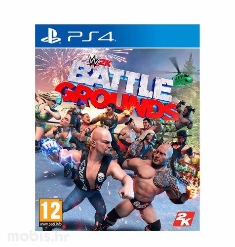 WWE 2K Battlegrounds igra za PS4
