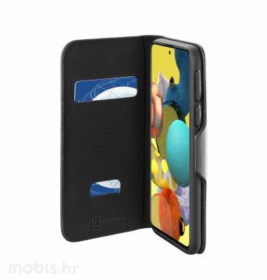 Cellular line preklopna kožna maskica za Samsung Galaxy A52: crna