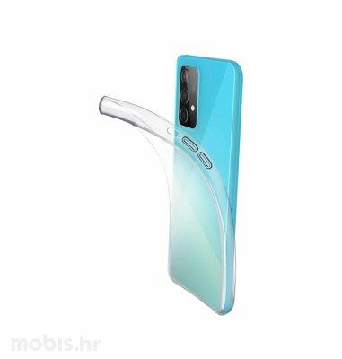 Cellularline silikonska zaštita za Samsung Galaxy A52: prozirna