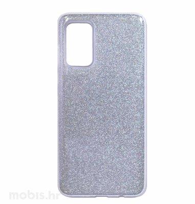 MaxMobile zaštitna maska za Huawei P Smart 2021 Glitter: srebrna