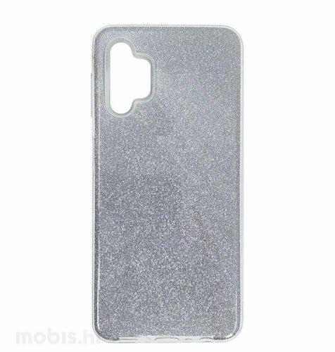 MaxMobile zaštitna maska za Samsung Galaxy A32 5G Glitter: srebrna