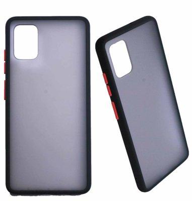 MaxMobile zaštitna maska za Samsung Galaxy A52 Matte: crveni gumb