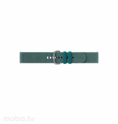 Silikonski remen za Samsung Galaxy Watch Active 2: zeleni