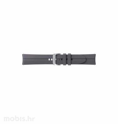 Silikonski remen za Samsung Galaxy Watch 3 (20 mm): sivi