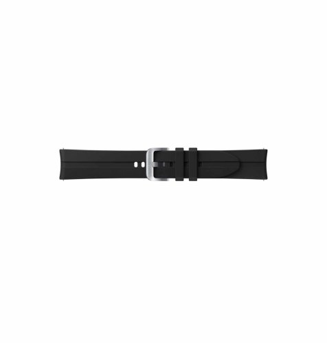 Silikonski remen za Samsung Galaxy Watch 3 (20 mm): crni