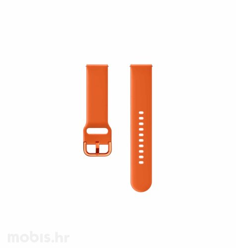 Silikonski remen za Samsung Galaxy Watch Active: narančasti