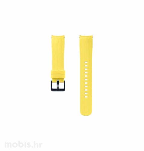 Silikonski remen za Samsung Galaxy Watch (20 mm): žuti