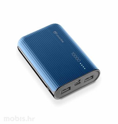 Cellularline prijenosna baterija 10000 mAh: plava