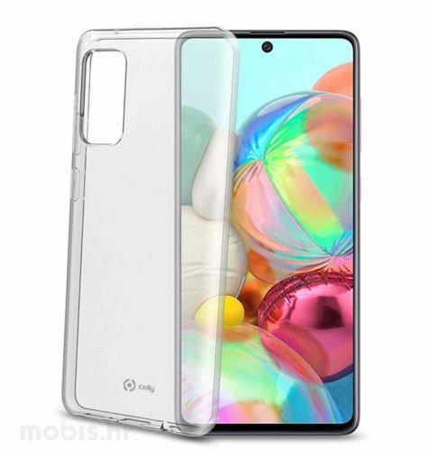 Cellularline zaštita za Samsung Galaxy A72: prozirna