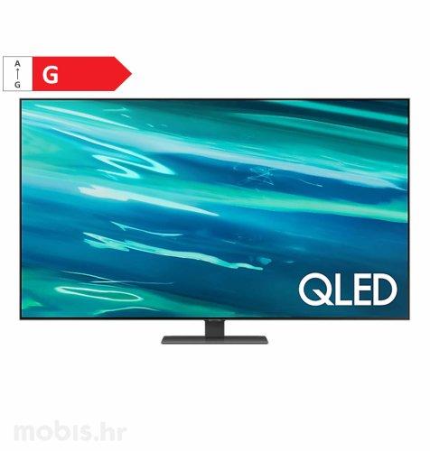 Samsung QLED TV QE65Q80AATXXH: crni