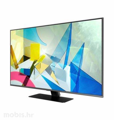 Samsung QLED TV QE55Q80TCTXXH: crni