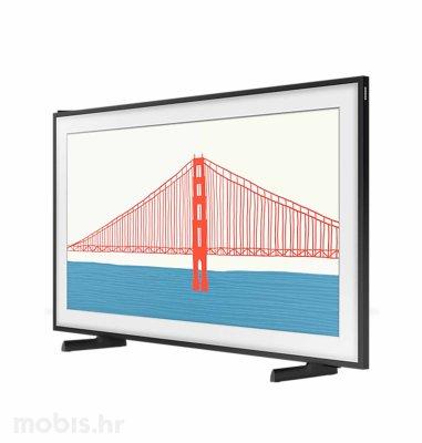 Samsung QLED TV QE75LS03AAUXXH: crni