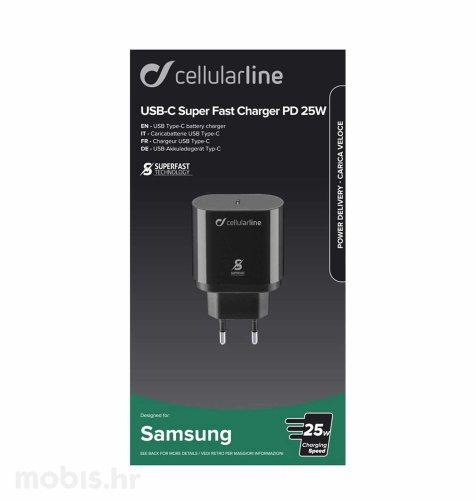 Cellular Line adapter za Samsung Type–C 25 W