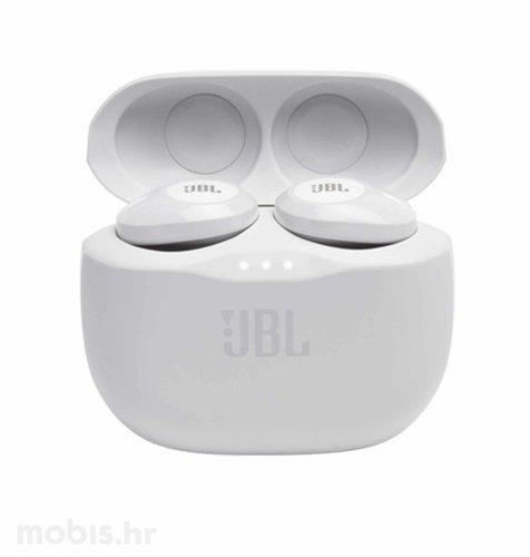 JBL Tune 125 TWS bežične slušalice: bijele
