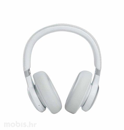 JBL Live 660 NC bežične slušalice: bijele