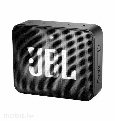 JBL GO 2 bluetooth prijenosni zvučnik: crni
