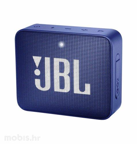 JBL GO 2 bluetooth prijenosni zvučnik: plavi