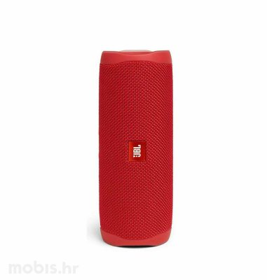 JBL Flip 5 bluetooth prijenosni zvučnik: crveni